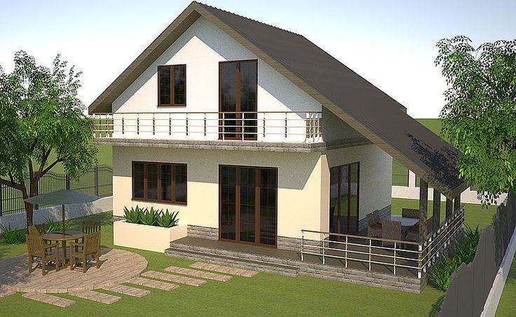 Case cu mansarda peste 100 de metri patrati