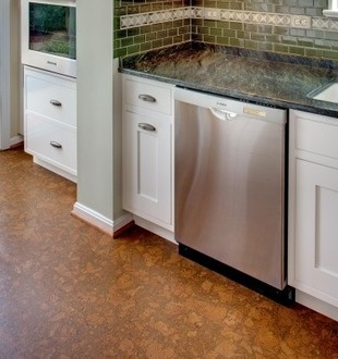 Cork Floors! This Often Overlooked Natural Material Comes In Various Colors  And Patterns And