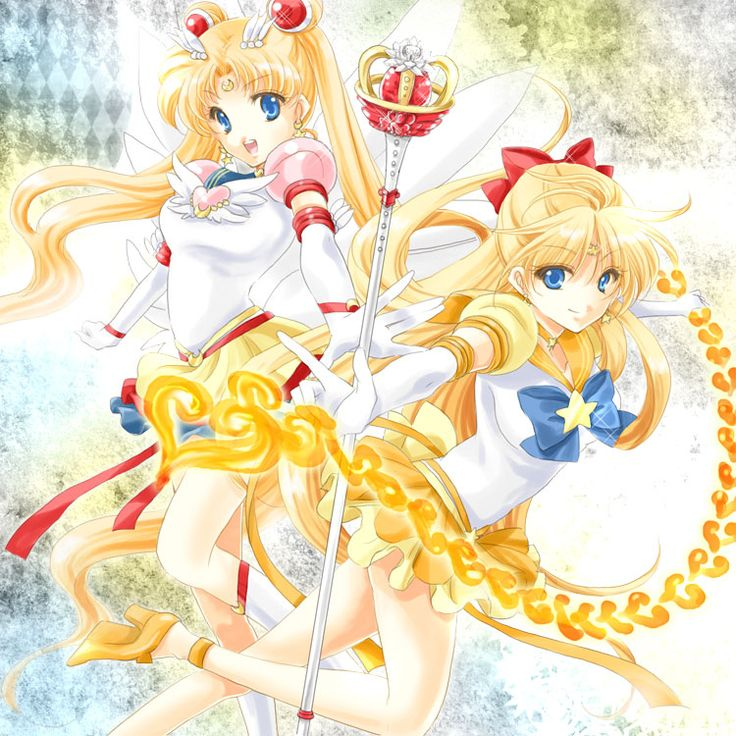 Sailor Moon & Sailor Venus