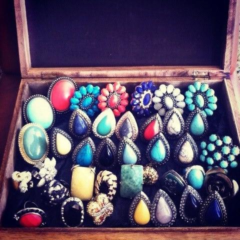 Coraman Ulrich's Samantha Wills Ring Collection
