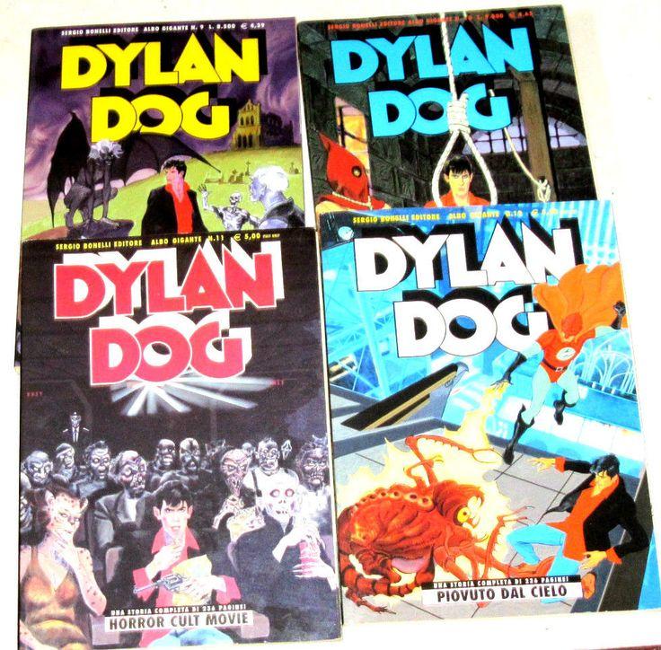Dylan Dog Albo Gigante 9, 10, 11, 12