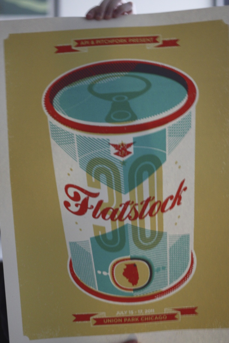 Flatstock | Delicious Design League