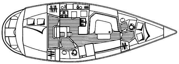 1996 Hunter 40.5 Legend Sail Boat For Sale - www.yachtworld.com