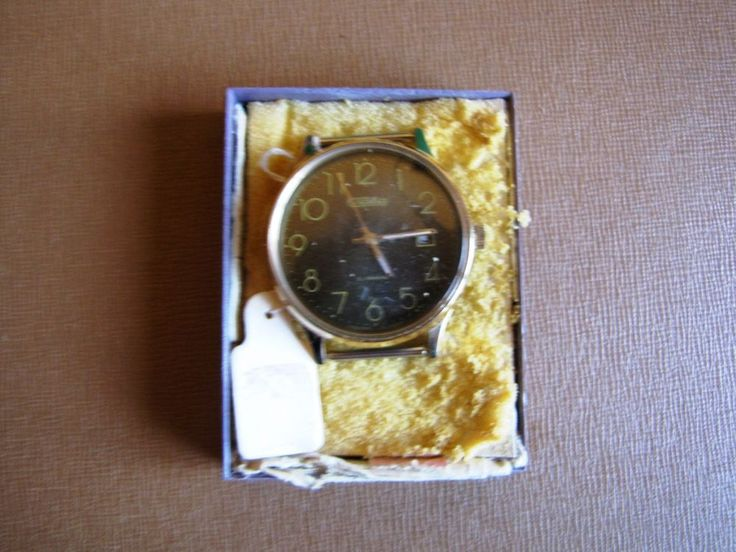 USSR RUSSIAN MEN'S WATCH SLAVA 21 jewels 1991 box #Slava #Fashion