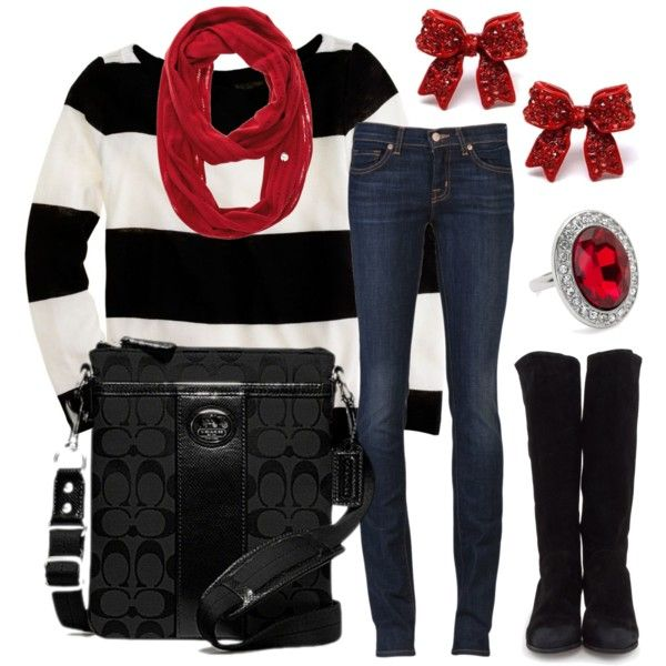 """Rubies & Rugby"" by qtpiekelso on Polyvore"