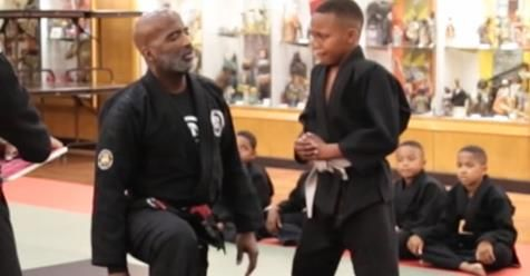 Little Boy Starts To Cry During Karate Test But His Teachers Unexpected Lesson Will Inspire You.