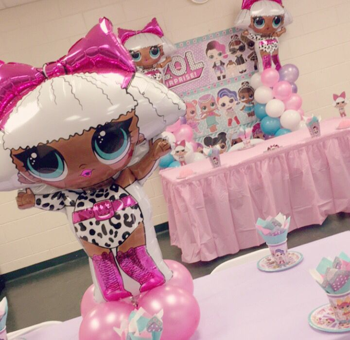 Lol Surprise Dolls Party – lol Theme 6th bday