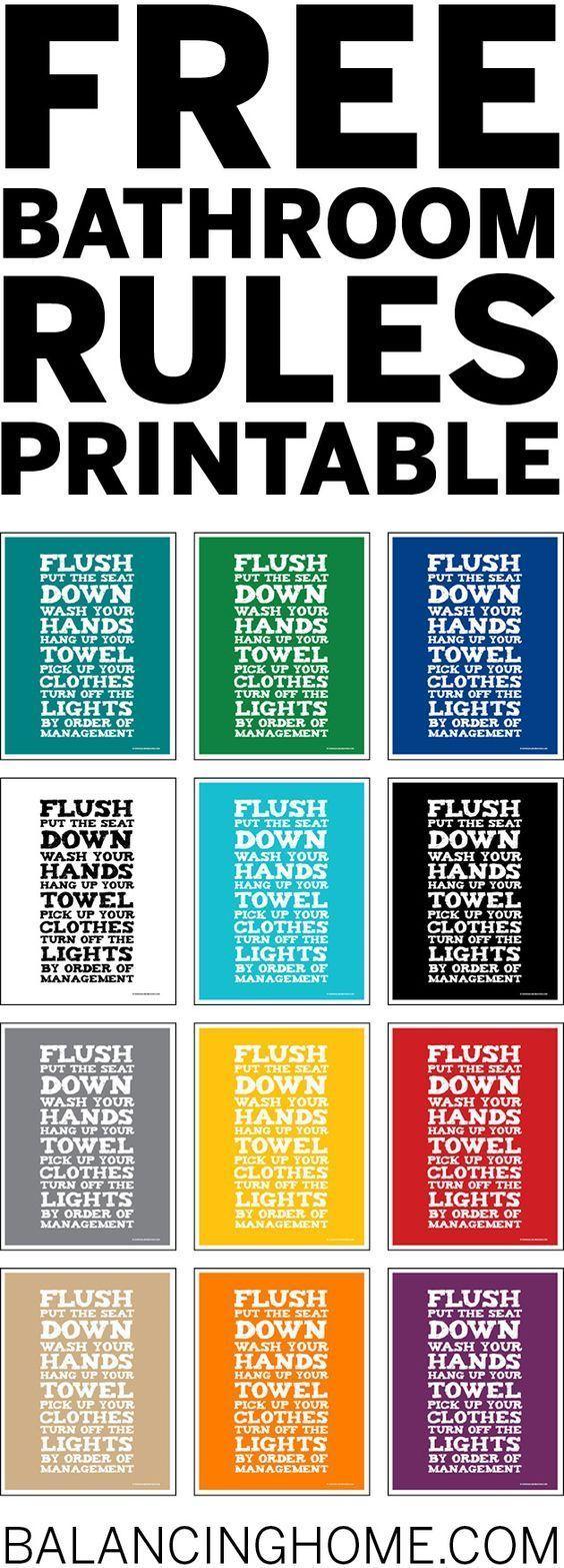 best 25+ bathroom printable ideas on pinterest | bathroom wall art