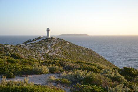 Sunset at Cape Spencer Lighthouse, Yorke Peninsula, South Australia. Amazing! www.alwayshappytravels.com