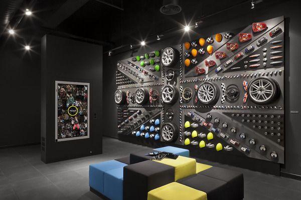 MINI Pop-Up Store London Westfield by studio 38 , via Behance