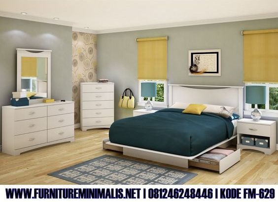 Harga Kamar Tidur Set Minimalis Elegan Rafina Modern