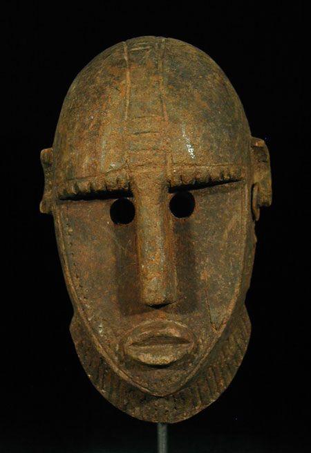 Bamana Mask Bamana people, Mali