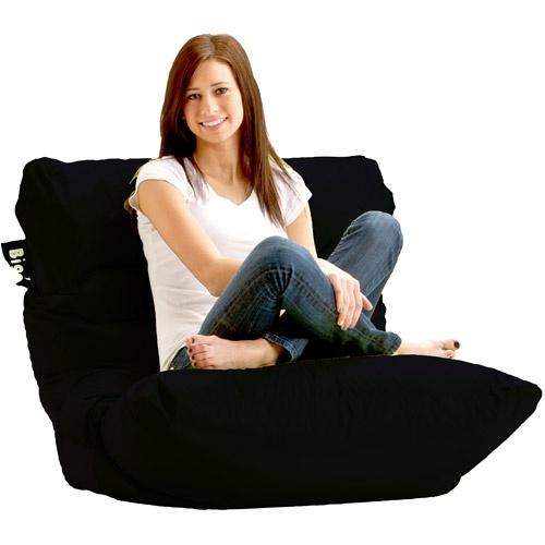 Comfort Research Big Joe Roma Bean Bag Chair Color: Stretch Limo Black Part 83