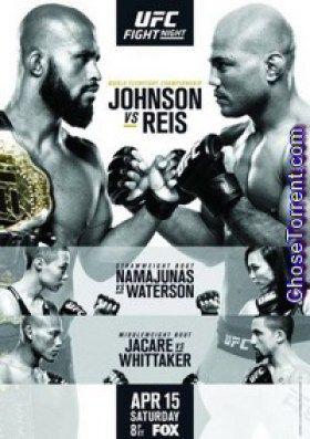 UFC Fight Night Johnson vs Reis Torrent 2017 Full HD Download