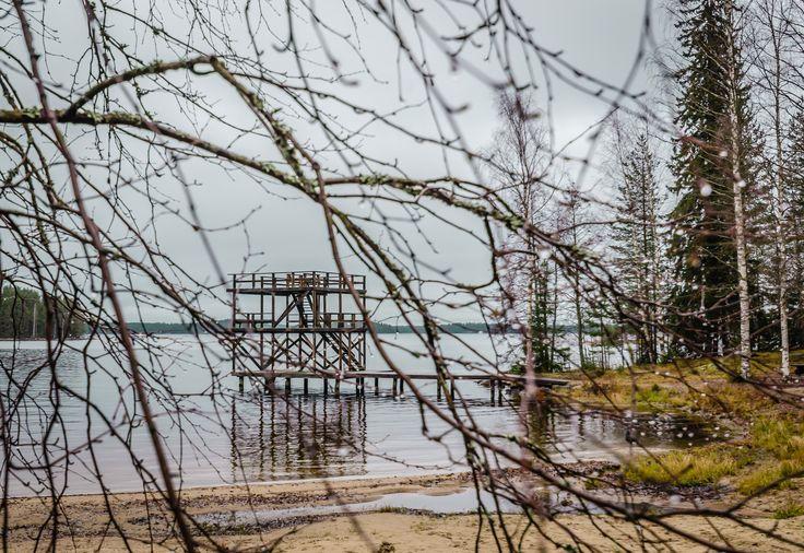Uimarannan hyppylaituri, Kermanranta, Heinävesi