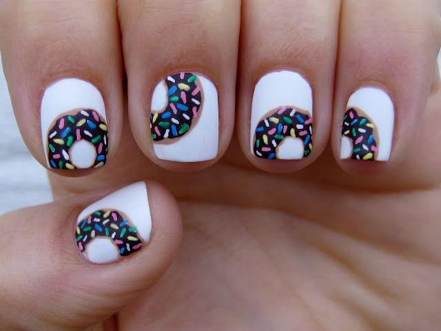 krispy kreme nail art