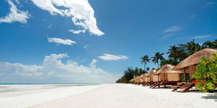 Take the short shuttle ride down to the resort's beach club, Gabi Beach. Melia Zanzibar Hotel, #Zanzibar #Tanzania #iGottaTravel