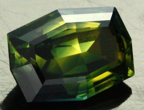 1.72 CTS - CERTIFIED - VS AUSTRALIAN SAPPHIRE [CDY11]  golden sapphire