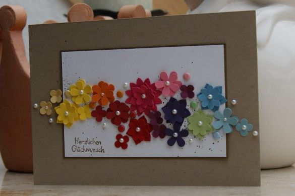 Love the rainbow effect!  Stampin Up!