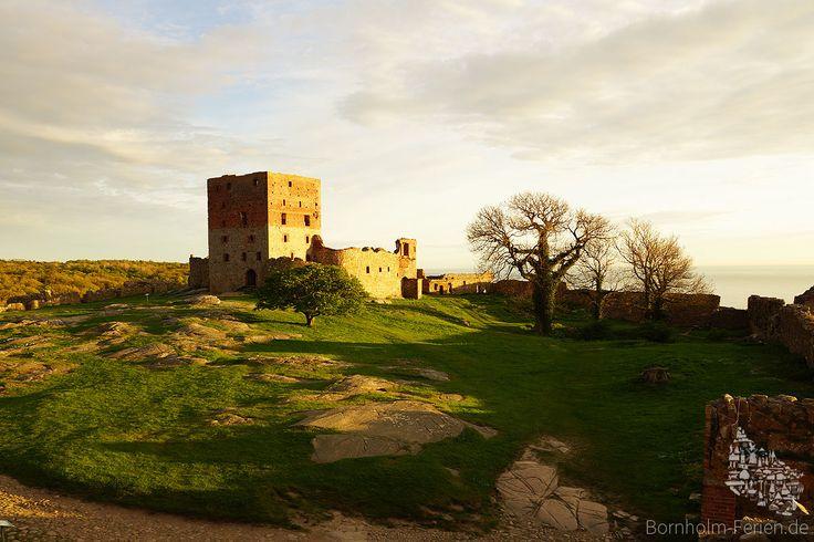#hammershus #burg #ruine #ruin #slot #mittelalter #medieval #fort #fortress #bornholm #dänemark