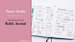 Planner Doodles - Inspiration for your Bullet Journal