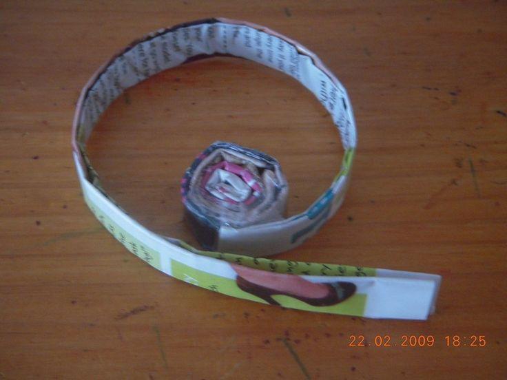 How to make a magazine bowl. Magazine Bowls - Step 5