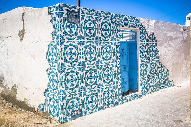 One Village, 150 Street Artists: A Sleepy Tunisian Town turned Vibrant Open Air…