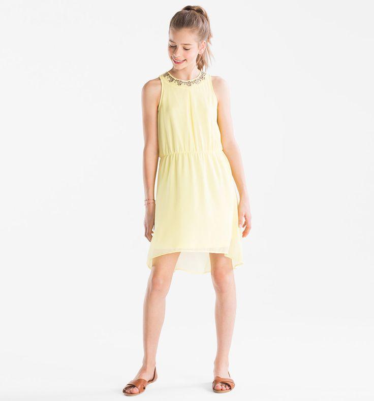 Sklep internetowy C&A | Sukienka, kolor:  jasnożółty | Dobra jakość w niskiej cenie