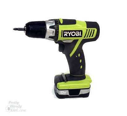 How to Use a Drill by Pretty Handy Girl
