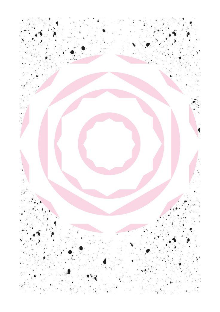 #contagiousdesignz #pink #rose #black #white #prints #design #pattern #grey #spots