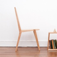 Wooden chairs made from Chilean native wood.