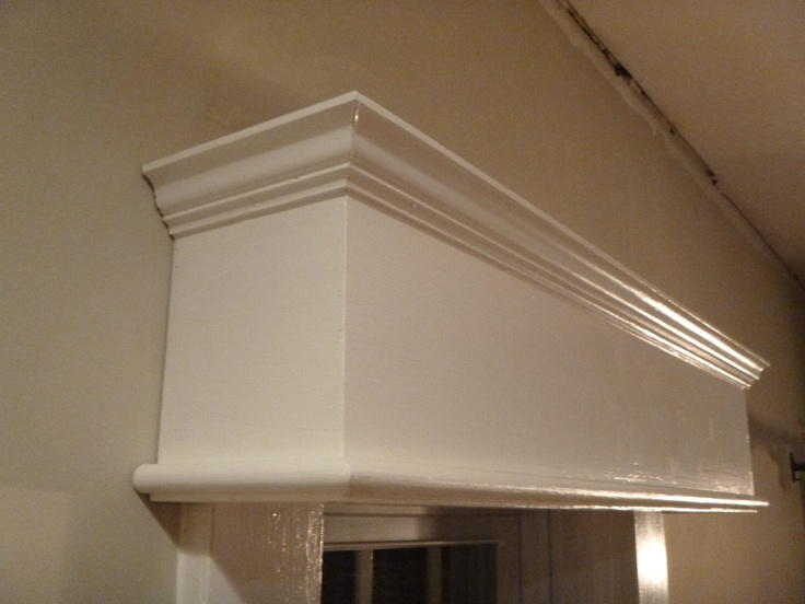 41 best cornice ideas images on pinterest bedrooms for Window valance box