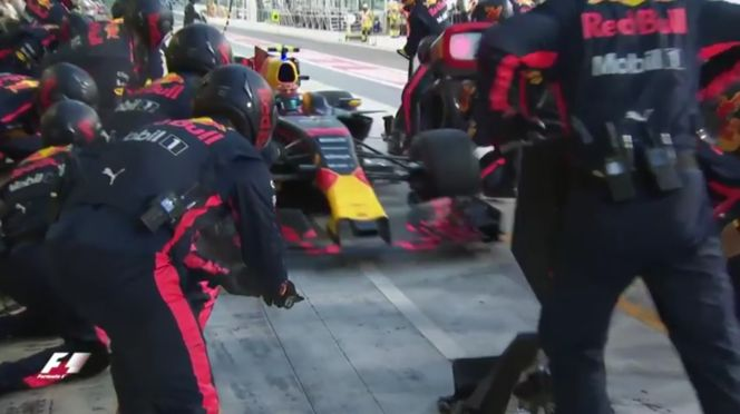 The Fastest Pit Stop At The Abu Dhabi Grand Prix (VIDEO)