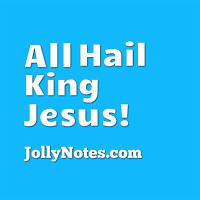 All Hail King Jesus, All Hail Emmanuel, King of kings, Lord of lords, Bright Morning Star!