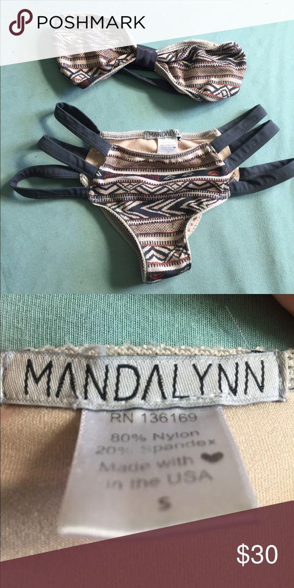 Mandaylnn swim bikini set Aztec bikini. Mandalynn Swim Bikinis