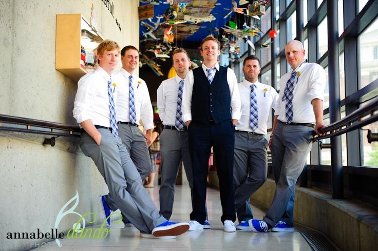 groom just vest, groomsmen just ties