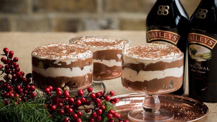 Baileys Brownie Trifle