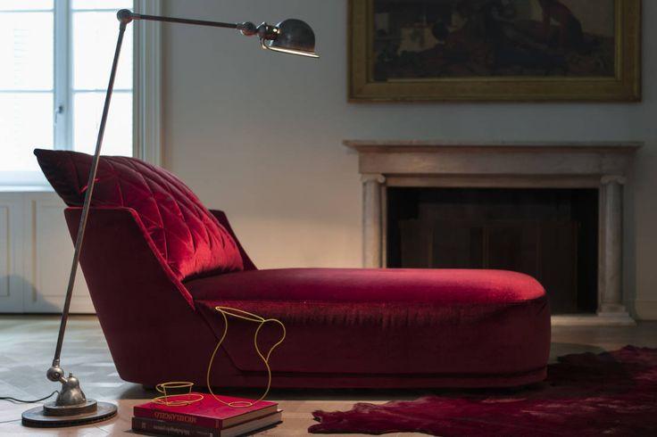 Grace Chaise Longue : Sofás e divãs por Alberta Pacific Furniture #press #controlucehome