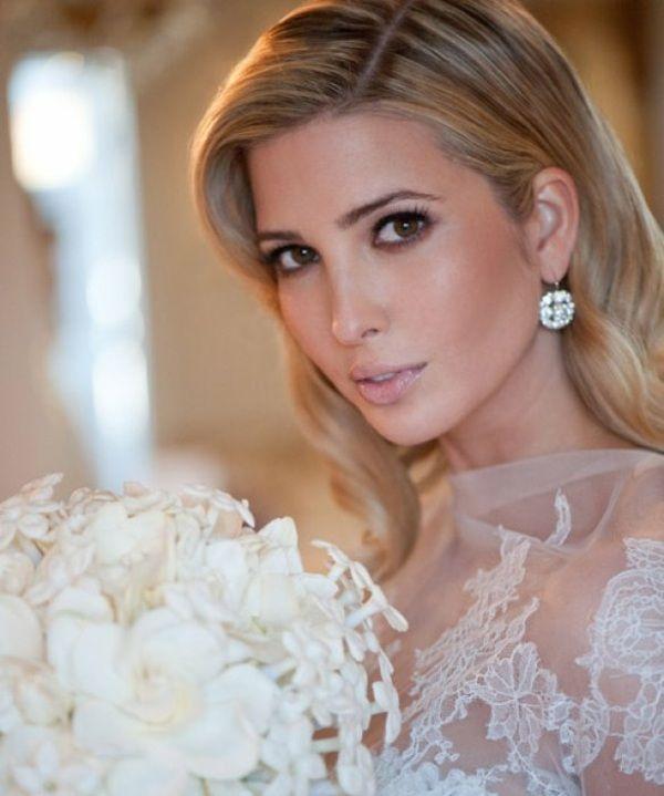 dunkle Augen betonen Hochzeit Schminke Ideen blasse Lippen