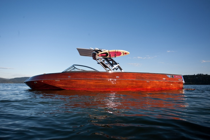 Wicked Wood, and all wood wakeboard boat by Stancraft ...