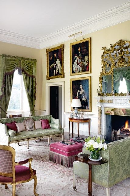 Old English Drawing Room: 715 Best Old School Rooms Images On Pinterest