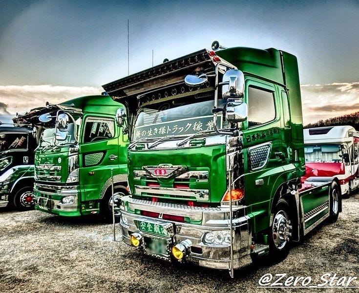 #dekotora #truckphotography #truck #hino #hino700 #japan #HDR #デコトラ #アートトラック #トラック #哥麿会 #2018年 #日野自動車 #日野プロフィア #グラプロ #あか音物流 #いわき