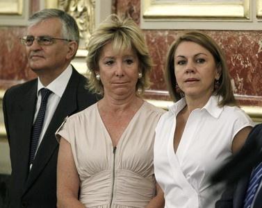 Un supuesto insulto de Esperanza Aguirre a Cospedal agita Twitter