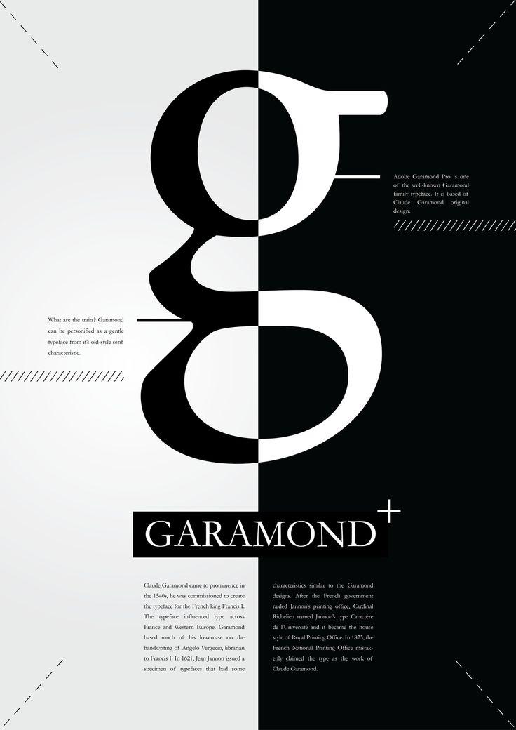 garamond poster - Google 검색                                                                                                                                                      More