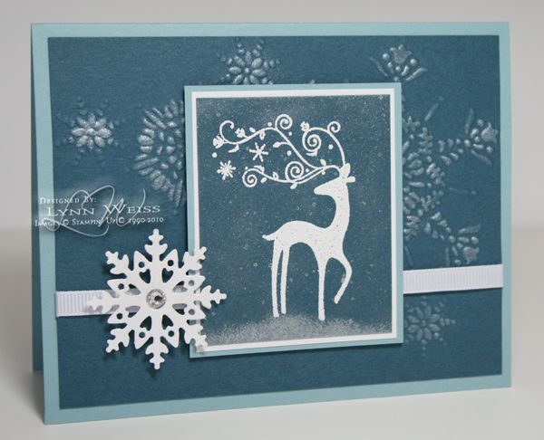 LW Designs: Dasher Through the Snow