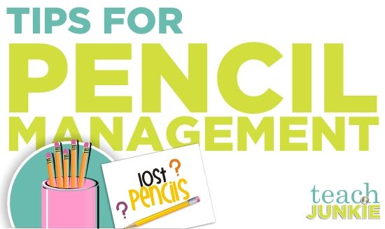 Teaching Tips for Pencil Management  Find out how to create a pencil management system for your classroom and for lost or extra tools. I ...