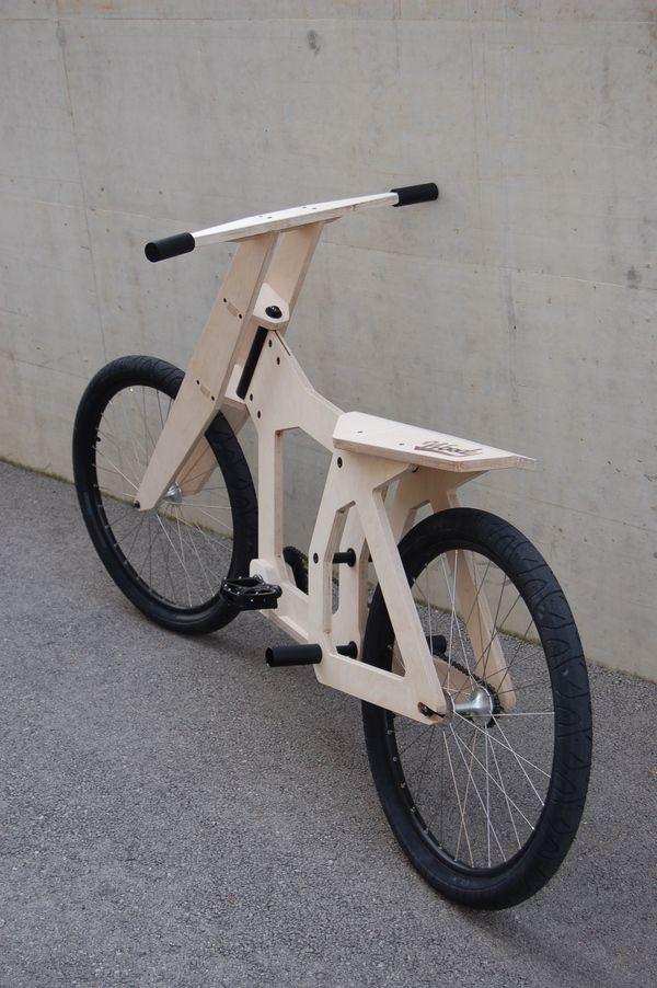 WOODY Wood Bicycle