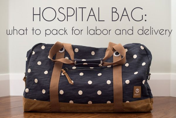 It can be hard trying to figure out what to put in your hospital bag for labor and delivery...