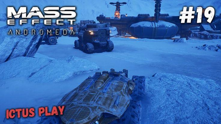 Прохождение Mass Effect Andromeda ► Ледяная планета Воелд #19 [PC, Ultra...