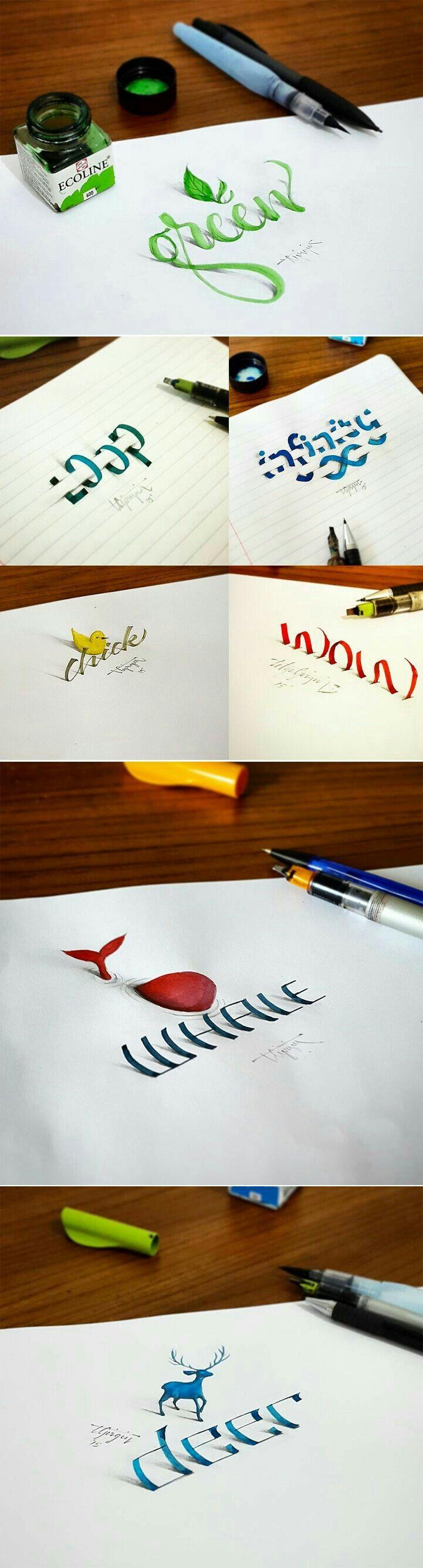 Zeichnen Schrift Typografie Schreiben Schleifen Dekoration Kinder Basteln Machen Sie Ihr Logo